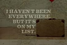 B U C K E T L I S T / The places I'll go and the things I will do / by Ally Patton