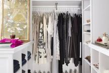 c l o s e t s  / The closets of my dreams...  / by Fallon Carmichael | Sage + Sparkle