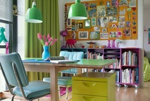 Dream Office Spaces / Dreamy Creative Spaces that would be lovely for work....