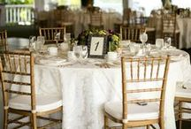 White & Gold Weddings