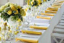 Yellow/Orange Weddings