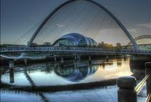 NewcastleGateshead / Newcastle is a buzzing northern city well-loved for its lively nightlife, great shopping and inspiring selection of cultural treats.  / by Love GREAT Britain