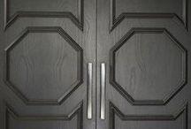 •doors, trims, & woodwork•