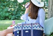 Summertime / Celebrate this summer with DIYs, delicious recipes, and a bag or two to tote your things as you are out and about this summer.