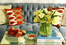 •dramatic sofas• / Tufted, Velvet, Bold Colors, or any combination of the three!