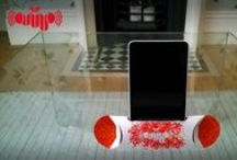 Pop-amp - My Eco Product / A portable, foldable, eco-amplifier for smartphones made from ONE PIECE of paper!