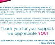 National Library Week Programs