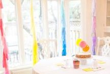 BIRTHDAY PARTY IDEAS / Here you'll find ideas for children's birthday parties, invitations, favors, decorations, and themes that the kids will love!