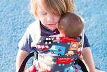 Babies Who Babywear / What's cuter than a babywearing baby?! Here's some of our favorite photos!