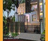 Desain Rumah Minimalis 2 Lantai Modern / Desain Rumah Minimalis 2 Lantai