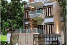 Minimalist House 2 Modern Floor / Desain Rumah Minimalis 2 Lantai