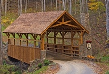 barns & covered bridges / by Crystal Clough