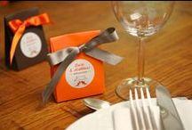 Jolis cadeaux d'invités / Boites de dragées colorées et petits cadeaux pour les invités de votre mariage