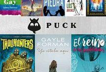 Libros de Puck / Las mejores historias para todas las edades se dan cita en Puck (Ediciones Urano), donde se ofrecen títulos para los lectores más pequeños y también apasionantes y trepidantes sagas para jóvenes adultos, así como grandes historias para el niño que todos llevamos dentro.