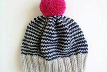 knit: hats