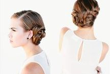 Wedding Looks / Hair, nail and makeup ideas for your special day. #whereweddinghairrocks