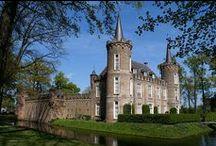 Monumentale kastelen & landgoederen / Nederlandse kastelen en landgoederen met de status van monument.   Geschikt om te huren voor bijvoorbeeld bruiloft, filmopname of woning.