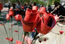 SANT JORDI 2014 / Fotografías tomadas durante la jornada de Sant Jordi (Día del Libro) en Barcelona. 23 de abril de 2014 | Fotos © Ediciones Urano