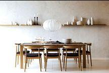 SB Dining / a big table, a full pot, conversation & friendship
