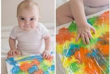 E C E / IDEAS FOR CHILDREN IN EARLY CHILDHOOD EDUCATION. ART AND CRAFTS, FOLLOWING CHILDREN'S INTEREST.
