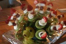 Frugt og andet sjov til børn / Ideer til børnefødselsdage og andet for børn.