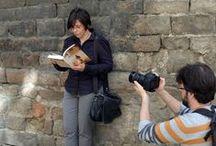 LA COMPOSITORA de Emma Ros / Imágenes tomadas durante la grabación del booktrailer de 'La compositora', la nueva novela de Emma Ros (16 de octubre de 2014) | Fotos © Ediciones Urano