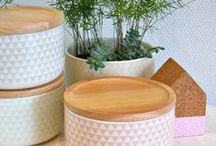 scandinavian crockery / storage jar, crockery scandinave