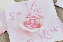 Mariage Rose / Carnet d'inspiration pour un mariage rose et blanc, intemporel et romantique