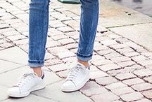 BASKETS BLANCHES / White sneakers (the Stan Smith trend)