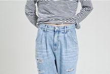 DENIM / The trend of 80s mom jeans