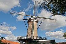 Monumentale molens / Nederlandse molen met de status van monument.   Geschikt om te huren voor bijvoorbeeld bruiloft, filmopname of woning.