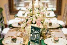 Mariage Or et Champagne / Mariage dans les tons Or, beige, rose poudré, élégant et glamour