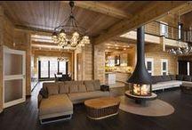 Rovaniemi Häuser innen / Alles in Haus ist maximal funktional und gestattet den Raum.