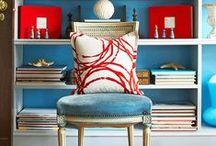 Colorful Interiors / Bright & bold colouful interiors