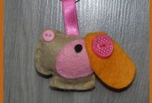 Craft ideas - Felt