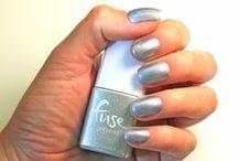 Lights, Camera, Re-action! / A shimmery silver that lights up the room.  #FuseGelnamel #Gelnamel