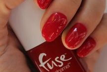 Watt's Your Color? / A powerful red that you'll want to brag about.  #FuseGelnamel #Gelnamel