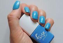 Sonic Blue-M / An electric blue that will send shock waves.  #FuseGelnamel #Gelnamel
