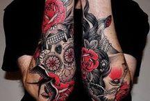 Calaveras de azúcar! / En este tablero recojo ideas para mi primer tatuaje en el brazo! :)