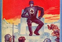 Nazis are Evil and they want to take over the World!!! 1 / We all know Nazis are super evil, right? So evil in fact that they used a lot of different methods,many talented allies,powerful weapons,mystical spells,etc., so they can take over the world or just simple destroy it. Lets Have a look!!!