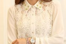 THE WHITE SHIRT... / Great & chic! Only white shirt pins, please. I will  remove images that don't fit & repetitive pins!  Please have a glance on older pins & dont pin repetitive pins...Invite your friends, free!...tnx...!