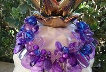 Twisted Sister Statement Necklaces / Want to make a Big Statement with your Jewelry?  Wear a Twisted Sister! OOAK technique I invented!