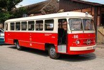 """SFA San - historia w fotografii / San – marka polskich autobusów, produkowanych w Sanockiej Fabryce Autobusów """"Autosan"""" w latach 1958-1967 (modele H01, H25 i H27 z nadwoziem samonośnym) i od 1967 do 1974 (model H100)."""