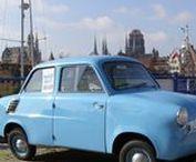 WSK Mikrus - historia w fotografii / Mikrus MR-300 – polski samochód osobowy o bardzo uproszczonej budowie produkowany w latach 1957–1960 przez WSK Mielec (nadwozie) we współpracy z WSK Rzeszów (silnik). Wyprodukowano 1728 sztuk.
