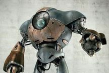 Character Designs - Robots