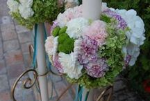 Candels & flowers