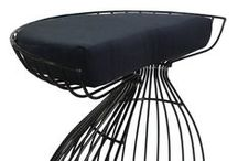 Rattan & Wire Stools / Our newest arrivals at Phil Bee, are our new collection of waterproof Rattan Stools. Hand woven, rattan, they can be used indoors or outdoors. Lots of styles and colours to create a nice pop in your home!  #rattanstools #wirestools #outdoorfurniture #waterprooffurniture #modernfurniture