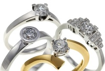 Engagement rings by Victoria James / A selection of Engagement rings made by Victoria James Jewellers