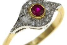Art deco style rings by Victoria James Jewellers / A selection of Art Deco inspired Jewellery made by Victoria James Jewellers, Jewellery quarter, Birmingham