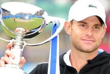 Andy Roddick / Andy Roddick is an American tennis star who retired at the US Open in 2012. For many years he was the highest ranked American on the tour and is known for his huge serve and cracking wise.